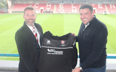 We Are Cheltenham Town's New Match Day Warm Up Kit Sponsors